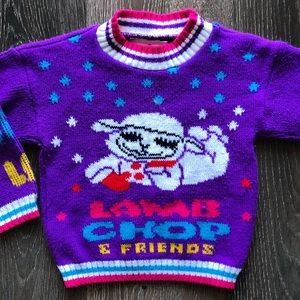 Vintage Lamb Chops Sweater